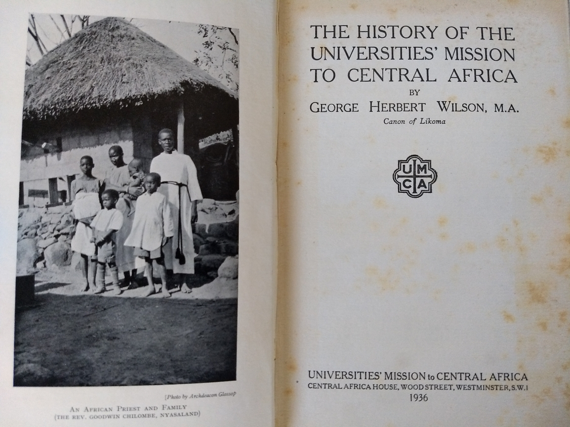 review The HISTORY OF THE UNIVERSITIES' MISSSION TO CENTRAL AFRICA